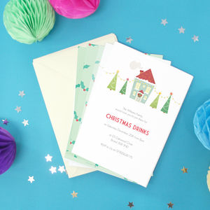 Personalised Christmas Party Invitations - childrens party invitations