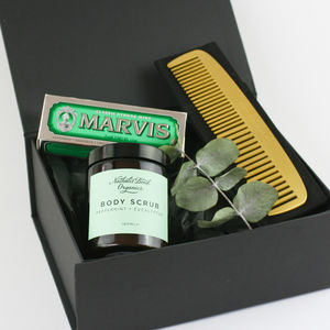 'Modern Man' Gift Box - men's grooming & toiletries