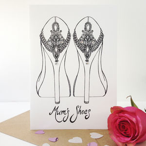 Mum's Shoes Mother's Day Card - shop by category