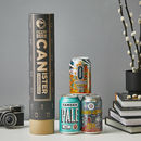 Best Of London Beer Canister Gift Idea