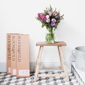 One Year Letterbox Flower Subscription - 50th birthday gifts