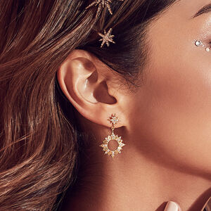 Sunseeker Gold Earrings