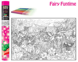 Fairy Colouring Poster
