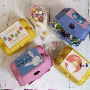 Easter gifts for babies and children notonthehighstreet easter egg box personalised easter gifts negle Choice Image