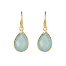 The Ashiana Aqua Drop Earrings
