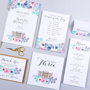 Table Plan, Numbers, Place Cards, Menus : Midsummer - table plans