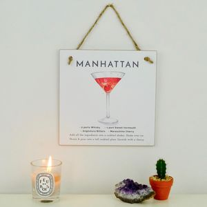 Manhattan Cocktail Gift A Card
