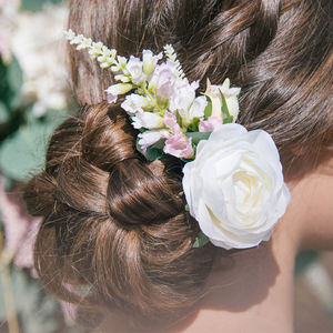 Liana Rose Hair Clip - bridal-edit