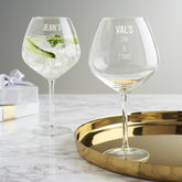 Personalised Gin Goblet - trends
