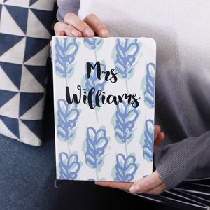 Personalised Notebook For Teachers - summer sale