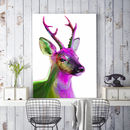 A Deer Friend, Canvas Art