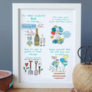 Personalised Retirement Print