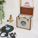 Steepletone Personalised Record Storage Case