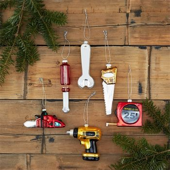 Tools Of The Trade Christmas Decorations