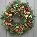 Classic Traditional Christmas Wreath