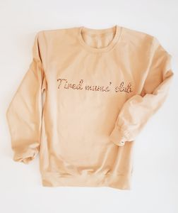 Tired Mums' Club Sweater