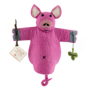 Percy The Pig Animal Puppet - puppets