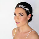 Stella Floral Bridal Headdress