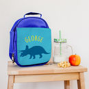 Personalised Triceratops Dinosaur Childrens Backpack