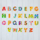 Striped And Spotty Decorative Name Letters