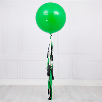 Football Theme Tassel Tail Giant Balloon
