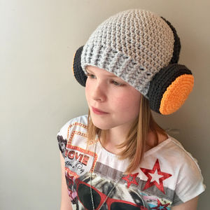 Crochet Headphones Beanie Hat