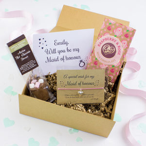 Will You Be My Maid Of Honour Gift Box