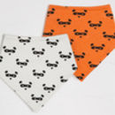 Two Pack Bib Bear Mask Print