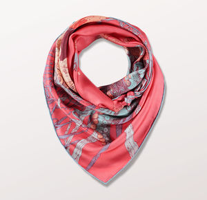 Kraken Girl Statement Ladies Scarf
