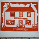 Personalised Linocut Home Portrait
