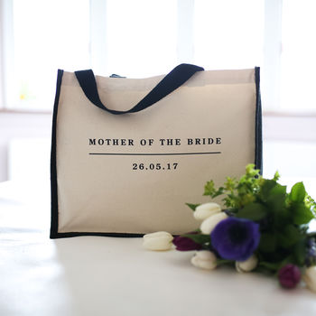Personalised Mother Of The Bride/Groom Bag