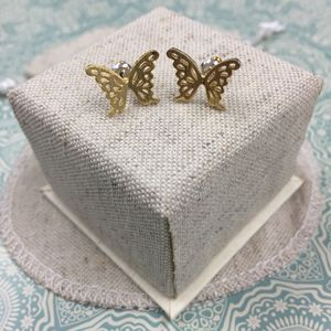 Meadow Butterfly Stud Earrings