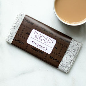 Creighton's Bourbon Biscuit Chocolate Bar - novelty chocolates