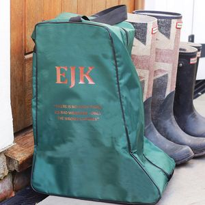 Personalised Welly Bag - mens
