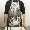 Grey Botanical Kitchen Apron, Kitchen Accessory
