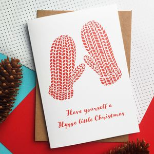 Have Yourself A Hygge Christmas Papercut Inspired Card