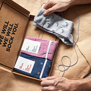Sock Subscription - 40th birthday gifts