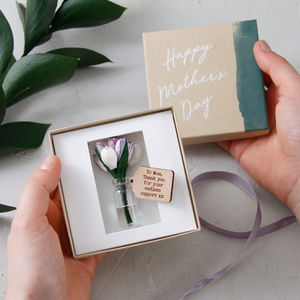 Forever Tulips Keepsake - wedding favours