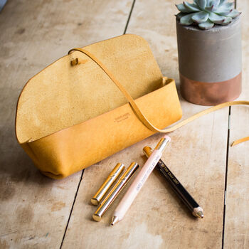 Leather Pencil Case With Free Personalisation