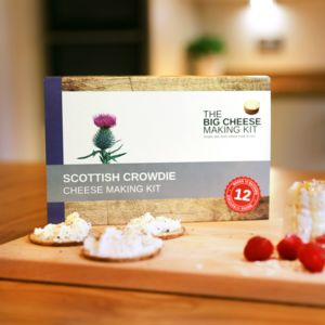 Make Your Own Scottish Crowdie Cheese Making Kit - cooking kits