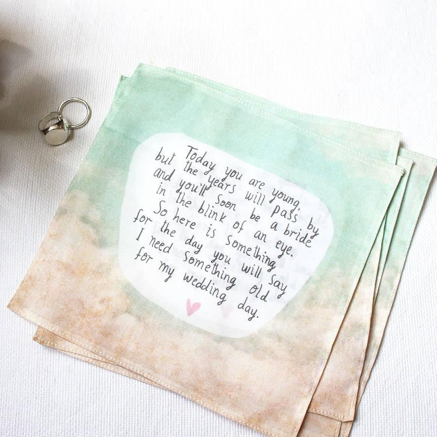 Flower Handkerchief