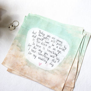 Flower Girl Handkerchief - wedding favours
