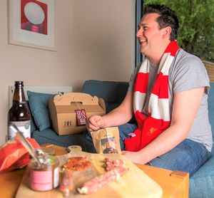 Beer And Snack Hamper - savouries