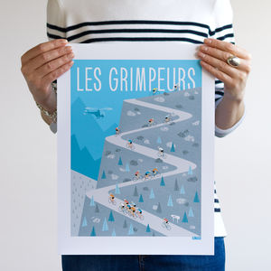 Cycling Poster, The Climbers