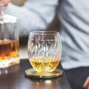 Personalised 'More Whisky' Crystal Tumbler
