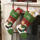 Personalised Traditional Children's Christmas Stocking