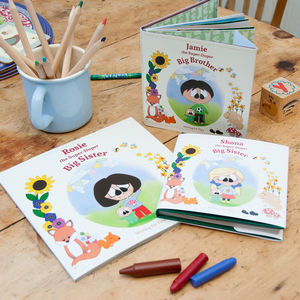 Personalised Super Duper Big Sister/Brother Book