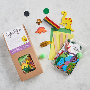 Dinosaur Craft Party Bag - children's parties