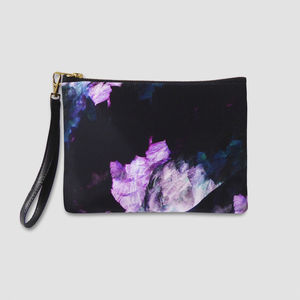 Bonita Customisable Leather Wristlet Bag - womens