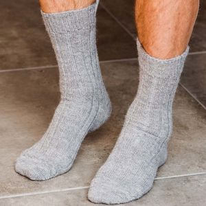 Men's Alpaca Bed Socks - men's fashion
